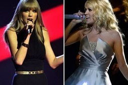 Taylor Swift and Carrie Underwood Get the Goat Treatment   Country Music Today   Scoop.it