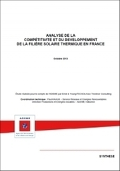 Analyse de la compétitivité et du développement de la filière solaire thermique en France | Mix énergétique | Scoop.it