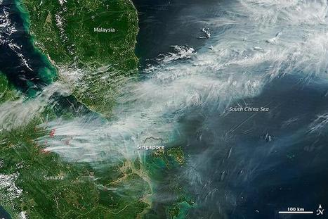 NASA's image of the day: Satellite picture of the #sghaze | JOIN SCOOP.IT AND FOLLOW ME ON SCOOP.IT | Scoop.it