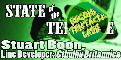 A Second Lash at: Stuart Boon | Lovecraftian Gaming | Scoop.it