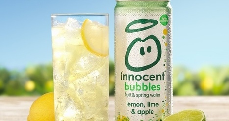 FoodBev.com | News | Innocent launches 'lightly sparkling' fruit juice and spring water blends | Innocent-Kuehne and nagel | Scoop.it