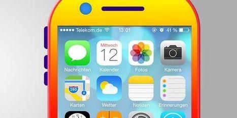 iPhone 6 : un design coloré pour coller à la sortie d'iOS7 ? - Terrafemina | Design ressources | Scoop.it