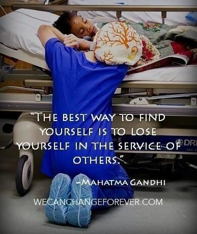 La mejor manera de encontrarte a ti mismo es perderte en el servicio a los demás.... M. Gandhi | Meet in Spain-es | Scoop.it