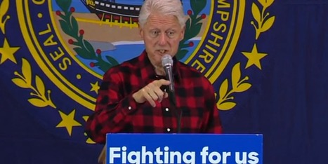 Bill Cigar Clinton says Sanders' Kettle is (almost) as black as Hillary's - Goldman are cringing | Culture, Humour, the Brave, the Foolhardy and the Damned | Scoop.it