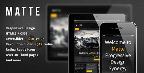 Vegas – Responsive HTML5 Theme (Entertainment)   Site Templates Download   Scoop.it