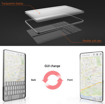 Bubble Phone - You can feel the keypad on a touchscreen phone | Wonderful Gadgets | Scoop.it