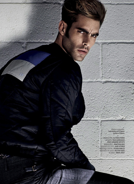 JON KORTAJARENA POSES for GQ MEXICO DECEMBER 2015 COVER STORY | THEHUNKFORM.COM | Scoop.it