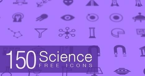 150 Iconos de ciencia gratis y exclusivos para tus proyectos | Recursos diseño gráfico | Scoop.it