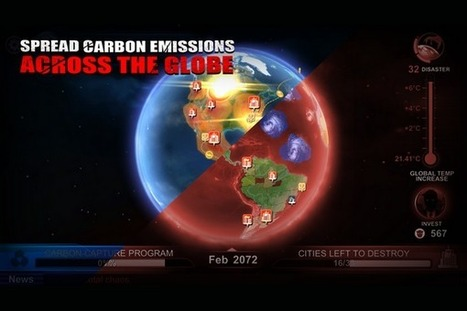 #Carbon #Warfare : un jeu pour sensibiliser aux dangers du réchauffement #climatique   Prospectives et nouveaux enjeux dans l'entreprise   Scoop.it