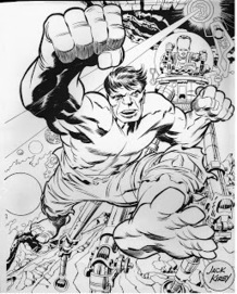 "Cap'n's Comics: The Hulk by Jack Kirby | Jack ""King"" Kirby 