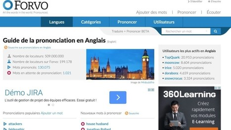 3 sites pour améliorer sa prononciation en anglais | Time to Learn | Scoop.it