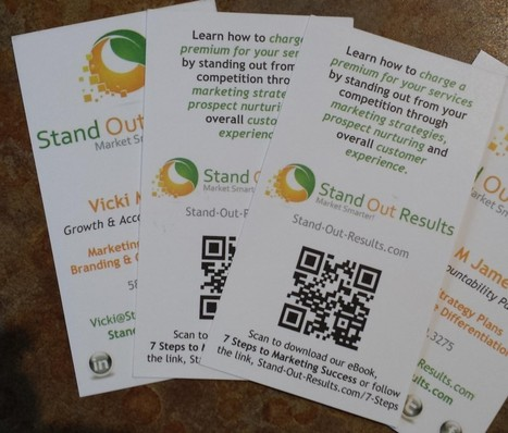 6 Ways to Creatively Use the Back of Business Cards for Marketing | Small Business Sense | Printing Related Content | Scoop.it