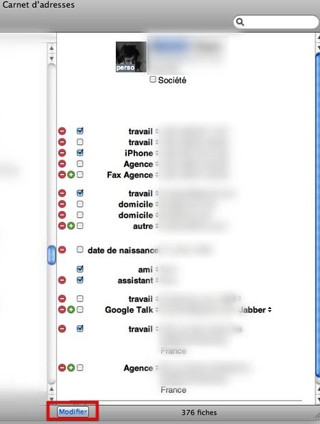 MacPlus : Tuto: astuce Carnet d'adresses | Toute l'actualité du Mac | Scoop.it