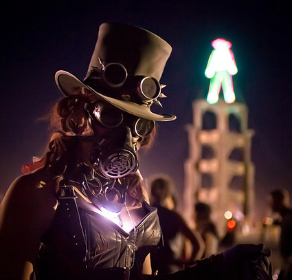 Steampunk at Burning Man | nouvelle piece | Scoop.it