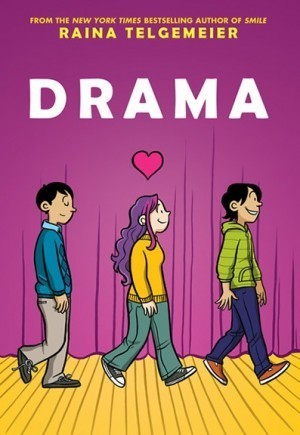REVIEW: Drama by Raina Telgemeier   Ladies Making Comics   Scoop.it