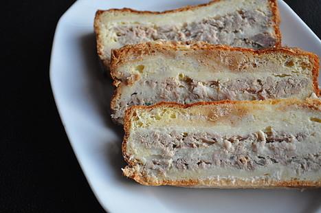 Croque cake au thon | A table ! | Scoop.it