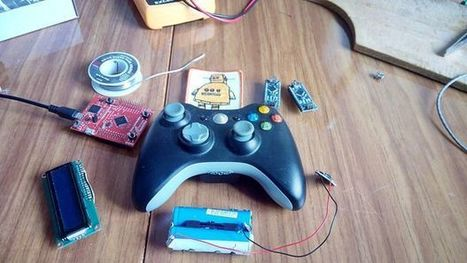 Controlling Arduino with Gamepad | Open Source Hardware News | Scoop.it
