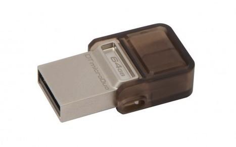 Kingston sort sa clé double-face USB/Micro-USB, la DataTraveler microDuo - FrAndroid   Pratiques numériques   Scoop.it