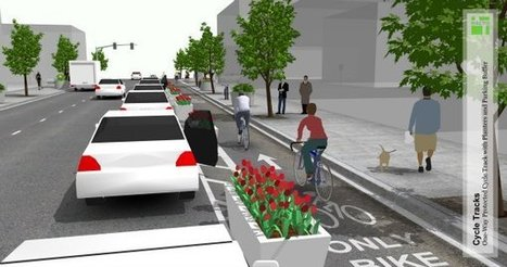 The Rise of the Protected Bike Lane | Active Commuting | Scoop.it