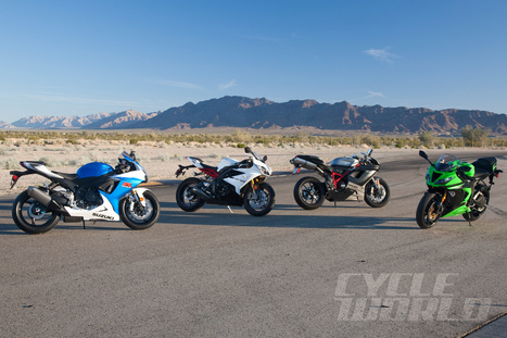 2013 Sportbike Comparison Test-Middleweight Sportbikes | Ductalk Ducati News | Scoop.it