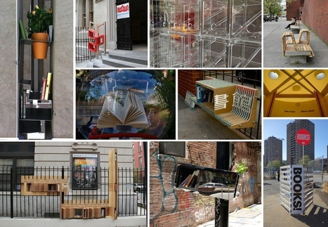 The Architectural League of New York | Little Free Library / NYC | The Information Professional | Scoop.it