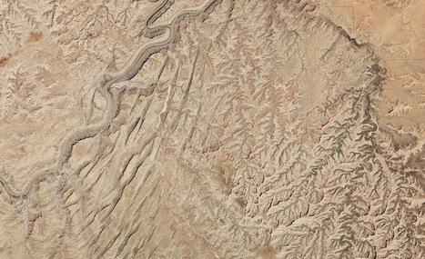 Geological 'Grabens' in Utah Seen from Space (Photo)   Geology   Scoop.it