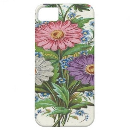 Pink, Purple and White Flowers iPhone 5 Covers   Adriane Designs   Scoop.it