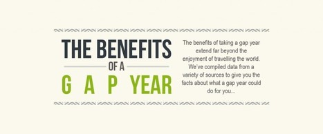 The Amazing Benefits of a Gap Year - Where to Volunteer | Gap Year Statistics to Broaden Your Mind | The Leap | Scoop.it