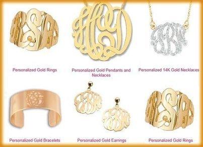 Get Monogrammed - Custom Gold Monogram Jewelry   Fashionista   Scoop.it