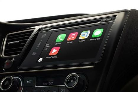 GASP! Apple CarPlay Software Runs on BlackBerry's QNX Platform | TIME.com | Mobile & Technology | Scoop.it