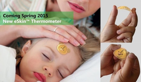 eSkin Thermometer - Vivalnk | NFC solutions | Scoop.it