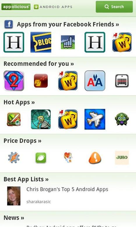 Appolicious - AndroidMarket | Android Apps | Scoop.it