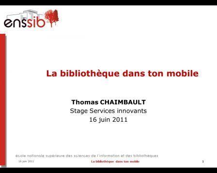 Bibliothèques et terminaux mobiles - Vagabondages | Services innovants | Scoop.it