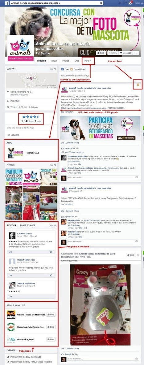 Facebook page redesign: the good, the bad and the ugly. All you need to know | Social Media by BeSocialOnline | Scoop.it