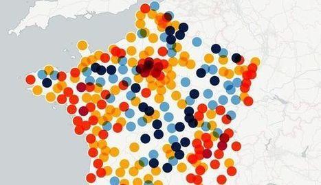 CARTE INTERACTIVE. Où se créent les emplois en France? - L'Express | Economie agricole de Midi-Pyrénées | Scoop.it