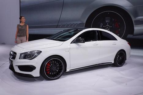2014 Mercedes-Benz CLA45 AMG Release Date | Mercedes-Benz | Scoop.it