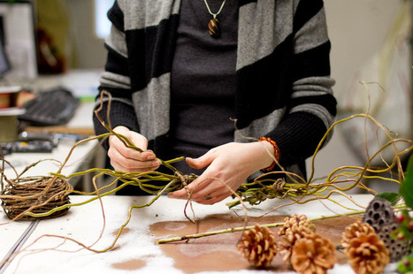 Make a Natural and Wild Holiday Wreath   Home and Garden Ideas   Scoop.it
