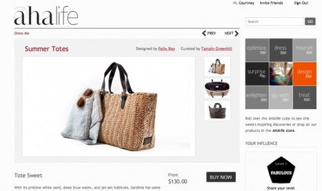 AHAlife. Are you an influencer? ... - The Next Web | Online Commerce | Scoop.it