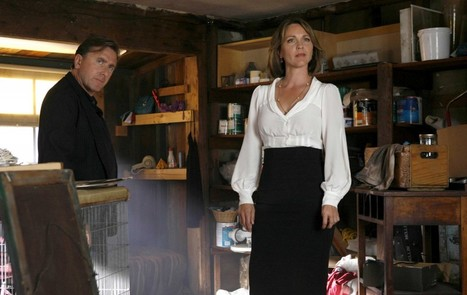 Mentaliste saison 4 : Kelli Williams consulte Simon Baker | Mentaliste | Scoop.it