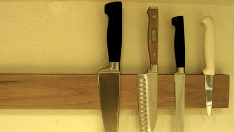 Mount Your Knives to the Wall with Hard Drive Magnets - Lifehacker | News coutellerie internationale | Scoop.it
