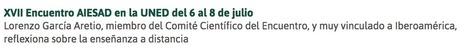 García Aretio: La calidad de la educación a distancia es, al menos, similar a la de la educación presencial | Educación a Distancia y TIC | Scoop.it