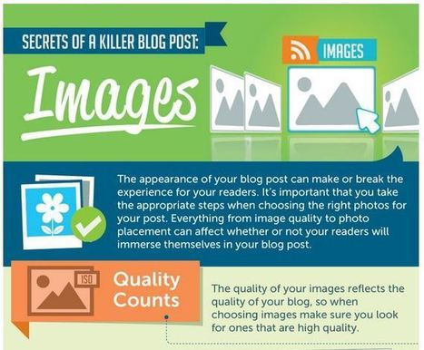 Infographic: How To Create Great Images For Blog Posts & Content | Visual Marketing Focus | Scoop.it