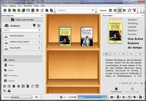Alfa Ebooks Manager -logiciel de gestion de bibliothèque | Chroniques libelluliennes | Scoop.it