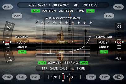 Theodolite iPhone App: Augmented Reality Compass, GPS, Map, Zoom Camera, Rangefinder, Inclinometer | REALIDAD AUMENTADA Y ENSEÑANZA 3.0 - AUGMENTED REALITY AND TEACHING 3.0 | Scoop.it
