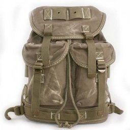 Cool Vintage military rucksacks in distressed canvas - $79.80 : Notlie handbags, Original design messenger bags and backpack etc | personalized canvas messenger bags and backpack | Scoop.it