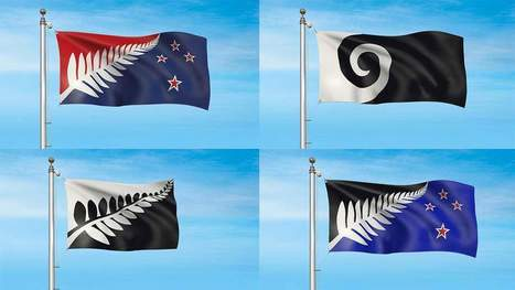 These Are the Final Four Designs for New Zealand's New Flag | enjoy yourself | Scoop.it