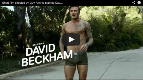 H&M: David Beckham | Creative Criminals | Marketing Inside | Scoop.it