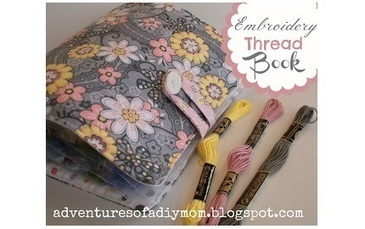 Tutorial: Embroidery thread book organizer | Sewing | CraftGossip.com | Fiber Arts | Scoop.it
