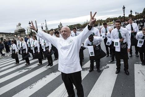 La rue de Rivoli s'est transformée en rue de la gastronomie avec Thierry Marx & Badoit - FASTANDFOOD | Gastronomie | Scoop.it
