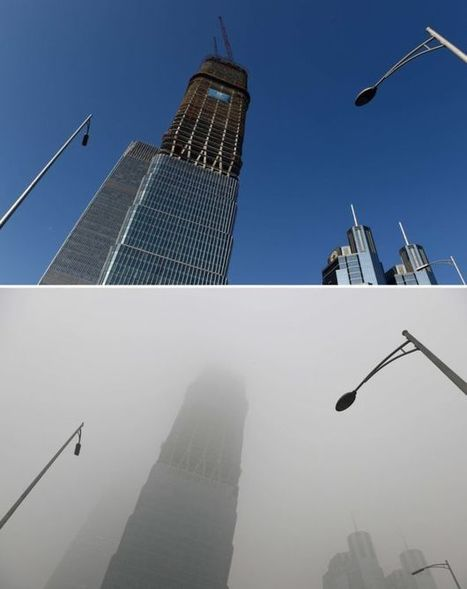 China pollution: Beijing issues first red smog alert - BBC News | enjoy yourself | Scoop.it